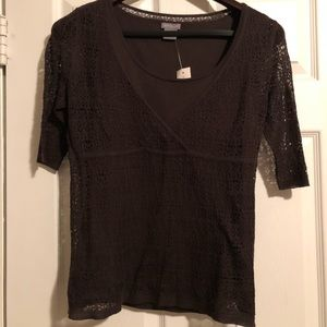Brand new Ann Taylor brown blouse